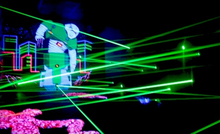 $9 for Two Laser-Tag Games, Two Laser-Maze Trips, and Five Arcade Tokens at Red Zone Adventures ($19.25 Value)