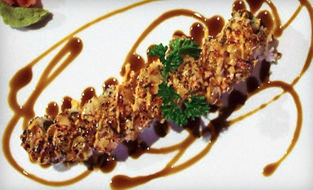 Two Sushi Lunch Specials or Japanese Dinner Food at Yakuza (Up to 54% Off). Three Options Available.
