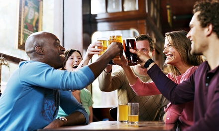 Grub and Pub Crawl for One or Two (Up to 55% Off)