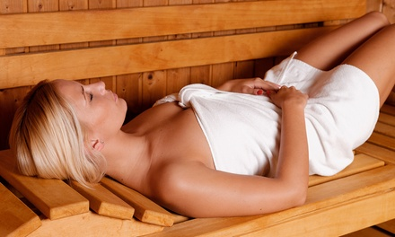 Three, Six, or Twelve Ultra Vibe and Infrared Sauna Sessions at Hey Gorgeous! Spa & Wellness (Up to 87% Off)
