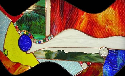 Stained-Glass Workshop for One or Two at Stained Glass Accessories (Up to 53% Off)