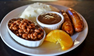 Pub Fare And Drinks At The Bulldog Pub (up To 40% Off). Three Options Available.