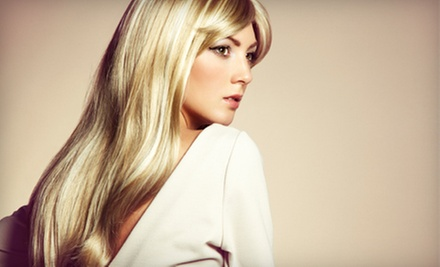 Haircut Package with Paraffin Treatment and Optional Highlights and Glaze from Sierra at City Salon (Up to 53% Off)