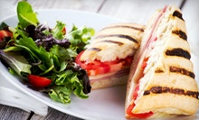 Paninis, Burgers, and Pizza for Dinner or Lunch at Epic Tavern & Grill (Half Off)