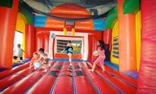 Two or Four Kids' Open-Bounce Visits at Fun Factor (Half Off)