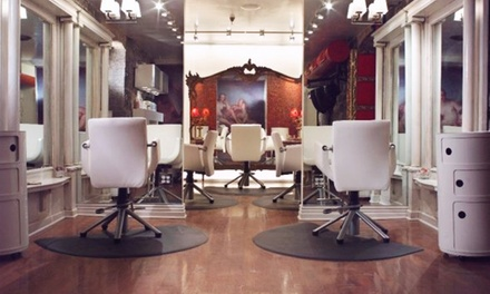 Haircut and Conditioning with Optional Partial or Full Highlights at Salon Rouge (Up to 57% Off)