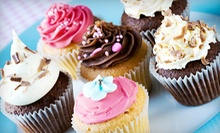 One Dozen Gourmet Cupcakes or One 8-Inch Customized Cake at Beautiful Cakes (Half Off)
