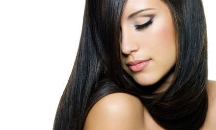 Haircut with Style and Optional Partial or Full Highlights at Organic Hair Salon by Marissa (Up to 54% Off)