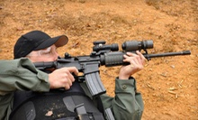 Shooting-Range Package with Gun Rental, Ammo, and Range Fees for One or Two at L &amp; L Machine Guns (Up to 64% Off)