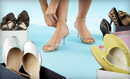 Footwear at If the Shoe Fits, Shoe Buckle 1 & 2, and Best Foot Forward (Up to 51% Off). Two Options Available.