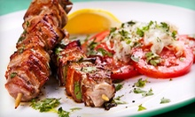 $30 for Three Groupons, Each Good for $20 Worth of Middle Eastern Cuisine at Chaloos Restaurant ($60 Total Value)