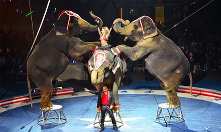 Shrine Circus at The Bank of Kentucky Center on January 9, 10, or 11 (Up to 45% Off)