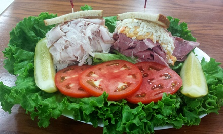 $11 for $20 Worth of Jewish Deli Food at Steve Stein's Famous Deli & Restaurant