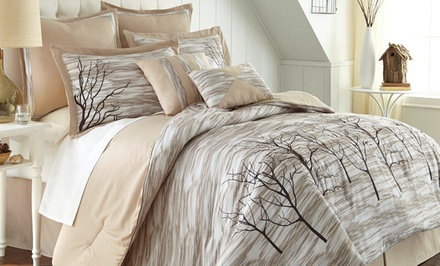 8-Piece Microfiber Comforter Set. Multiple Styles Available.