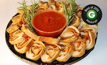 $12 for a Pepperoni-Roll Sampler Platter at Mancini's Bread Company ($25 Value)