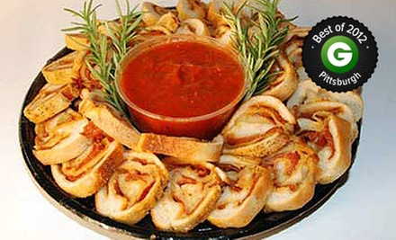 $12 for a Pepperoni-Roll Sampler Platter at Mancini&#x27;s Bread Company ($25 Value)