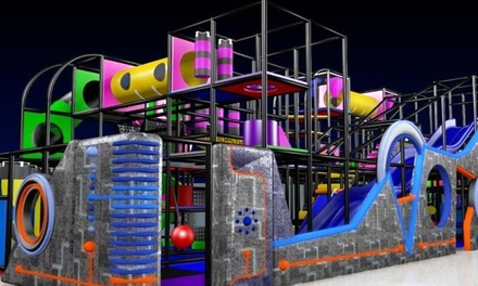 Indoor Playground Admission for a Child 1–3 or 4–12 Years Old at Galaxy Fun Orlando (50% Off)