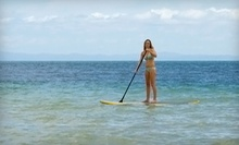 5 or 10 Yoga or Pilates Paddleboard Classes, Paddleboard Tour for Two, or Fishing for Two from Paddle On (Up to 53% Off)