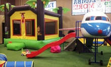 5 or 10 Open-Play Times at Jungle Gym &amp; Cafe (Up to 55% Off)