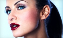TheHaute Look Makeover with Dry Hairstyling or Eye Makeover Package at Haute Looks Studio (Up to 55% Off)