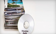 Photo-to-DVD Conversion for Up to 250, 500, or 1,000 Photos from iPreservedit (Up to 78% Off)