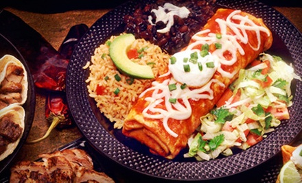 $5 for $10 Worth of Mexican Food at El Sombrero