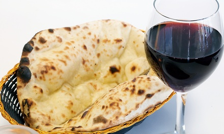 Indian Dinner with Appetizers and Wine for Two or Four at Heritage India (42% Off)