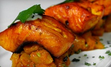 $20 for $40 Worth of Indian Fare at Dinner on Sunday–Thursday at Narin's Bombay Brasserie