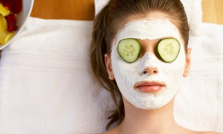 One-Hour Facials and Massages at New York Fashion Beauty (Up to 65% Off). Two Options Available.