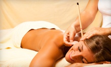 Ear-Candling or Colonic or Coffee Enema with or without Candling Treatment at Forest Hills Health Center (63% Off)