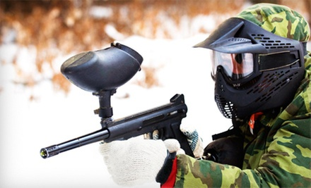Paintball Outing for One, Two, or Four or One Admission to Jungle Island Paintball Park (Up to 66% Off)