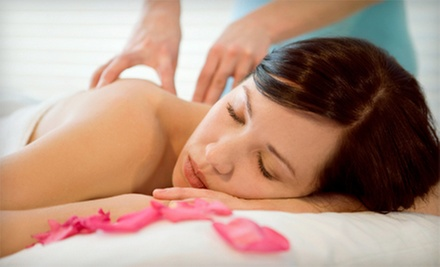 60- or 90-Minute Swedish Massage with Rose Hydrating Mini Facial at S. Salon & Spa (Half Off)