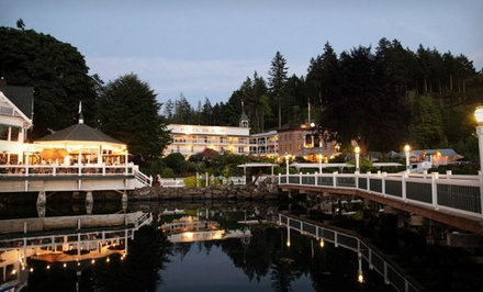groupon daily deal - 1- or 2-Night Stay at Roche Harbor Resort on San Juan Island, WA. Combine Up to 4 Nights.