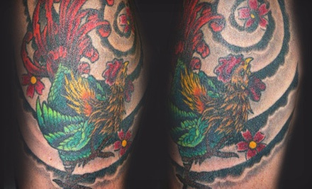 One or Two Hours of Tattooing at Bulldog Tattoo SF (51% Off) 