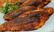 $10 for a Soul-Food Meal with Chicken or Fish and Rice, Cornbread, and Two Sides at Soul by the Pound ($20 Value)