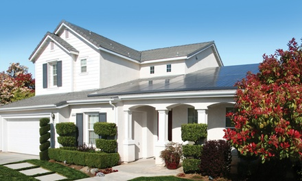 $1 for $400 Off Home Solar Power from SolarCity. Free Installation.