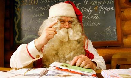 Carta personalizada do Pai Natal por 6,99€