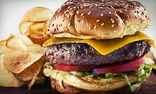 Three or Six Groupons, Each Good for $10 Worth of American Food at Jasper's Giant Hamburgers (Half Off)