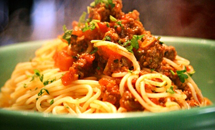Italian Food or Catering at Brioso Fresh Pasta (Half Off)