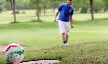 Nine-Hole Round of Footgolf for Two or Four at Palmer Park Golf Course (50% Off)