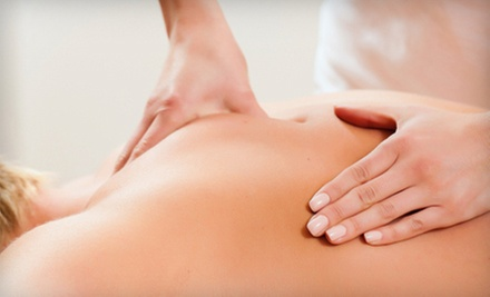 Chiropractic Exam and One or Two Adjustments and 60-Minute Massages at Adjust for Life Chiropractic (Up to 90% Off)