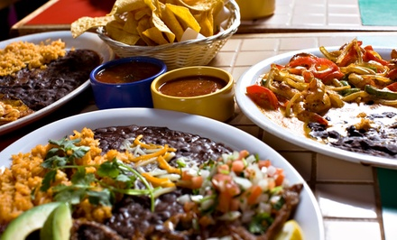Mexican Dinner for Two or Four with Fajitas and Margarita Flights at El Sombrero Restaurant (Up to 56% Off)