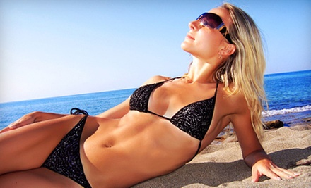 One or Three Organic Spray Tans with One or Three Optional Organic Scrubs at Scrub & Tan (Up to 73% Off)