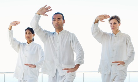 $29 for One Month of Unlimited Yoga and Tai Chi Classes at 9 Dragons Healing Arts ($129 Value)