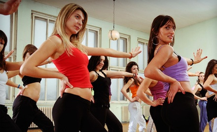 10 or 20 Kickboxing, Zumba, or Piloxing Classes at B-fit (Up to 57% Off)