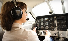 $169 for an Introductory Flight Class with One Hour of Flight Time at Cirrus Air Express ($350 Value)