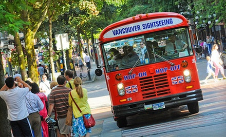 One-Day Unlimited Hop-On, Hop-Off City Bus Tour for Two or Four from Big Bus (Up to 53% Off)