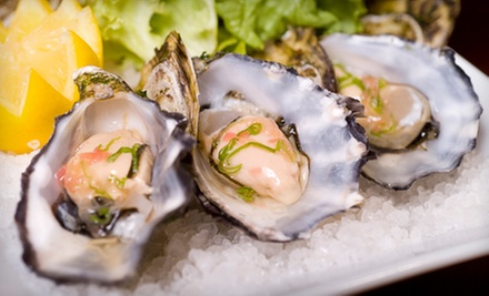 Fresh Seafood and Steaks for Two or Four at Canterbury's Oyster Bar & Grill (Half Off)