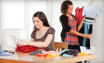 Four-Hour Sewing Class or Five-Day Sewing Boot Camp at Esaie Couture Design School (Up to 59% Off)