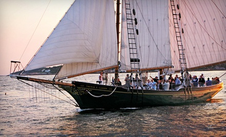 $22 for a Two-Hour Sailing Trip from Thomas E. Lannon (Up to $40 Value)